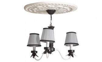 Kral Gray Ceiling Lighting