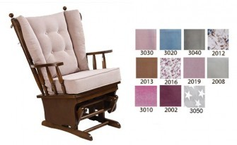 Resting armchair (Walnut- Color)