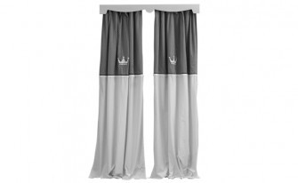 Kral Grey Curtain (90X260)