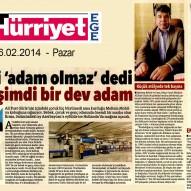 Hürriyet - EGE 16 Şubat 2014