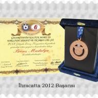 İhracatta 2012 Başarısı Bronz Madalya