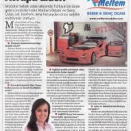 Milliyet &Vatan 9 Aralık 2015